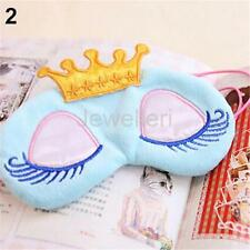 Travel Sleep Eye Mask Cartoon Crown Shade Cover Light Sleeping Relax Blindfold