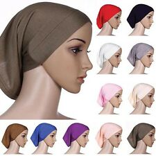 Islamic Muslim Women's Head Scarf Brief Underscarf Hijab Cover Headwrap Bonnet Q