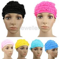 Women Swim Swimming Cap Bathing Shower Hat Water Sport Pool Beach Long Hair Cap