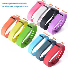 New 10 PC Replacement Metal Clasp Wrist Band For Fitbit Flex Bracelet No Tracker