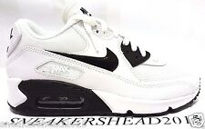 NIKE AIR MAX 90 PREMIUM WOMEN'S RUNNING SHOES BLACK/WHITE