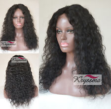 Curly Silk Top Human Hair Best Lace Front Wigs For Black Women Indian Remy Hair