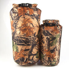 8/15L Camouflage Military Camping Kayaking Dry Storage Bag Waterproof Sack Pouch