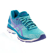 Asics - Gel Nimbus 18 Running Shoe - Wide (D) - Turquoise/Iris/Methyl Blue