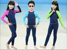 2mm Neoprene Wetsuit for Kids Surfing Snorkling Scuba Diving One Piece Children