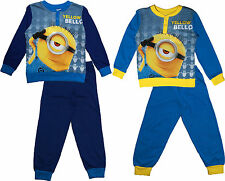 Despicable Me Minions Long Sleeve Cotton Pyjamas By BestTrend