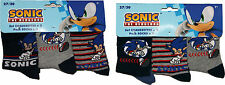 Sonic the Hedgehog Childrens 3Pk Socks By BestTrend