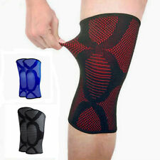 Flexible Elastic Knee Pad Wrap Support Brace Arthritis Injury Sleeve Protector