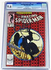 Amazing Spider-Man (1963 1st Series) #300 CGC 9.6 1st app Venom Beautiful Color