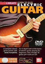 Lick Library: Learn to Play Electric Guitar (DVD, 3-Disc Set, 2 DVDs/CD) Leonard