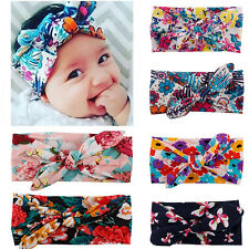 New Baby Girls Toddler Flower Hair Band Bow Knot Hair Accessories Headband Gift