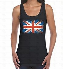 British Flag WOMEN TANK TOP Union Jack United Kingdom Britain UK Gift TankTOP