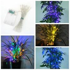 30LED Fairy String Lights Battery Operated Decorations Home Party Wedding Xmas