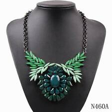 new black chain resin cheap price statement pendant necklace for ladies jewelry