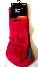 NIKE PARK III FOOTBALL SOCKS VOLT CHERRY/BLK UK SIZE KIDS 2-5 TO YTH 5-8 BNWT