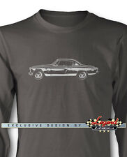 Studebaker Starlight Coupe 1953 Long Sleeves T-Shirt - Multiple Colors and Sizes