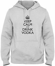 Men's Keep Calm And Drink Vodka Hoodie Sweatshirt