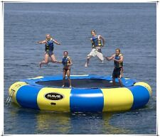 4M(13') Diameter Inflatable Water Trampoline Bounce Swim Platform Lake Toy SALE!