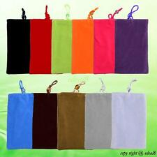 Soft Cloth Velvet Pouch Universal Cell Phone Bag Case For Mobile Phone PDA MP4