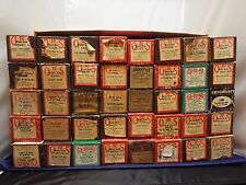 VINTAGE PLAYER PIANO ROLLS 1910's-1980's VARIOUS TITLES & SINGERS HOLIDAY/DANCE