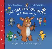 The Gruffalo's Child Song and Other Songs by Julia Donaldson NEW (P/B + CD 2012)