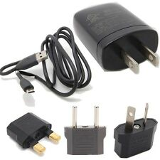 AC charger+usb cable for Htc Evo Shift 4G 3D Dragon G5 Desire Z C