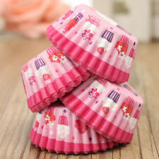 100Pcs Wedding Paper Cupcake Cases Wrapper Liner Baking Muffin Kitchen Party Hot