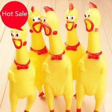 Shrilling Rubber Toy Screaming Chicken for Children Party  Sound Squeeze  Toys
