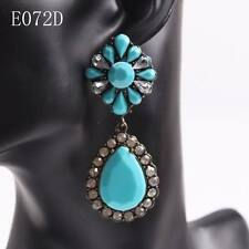 fashion 2016 new cheap mix colors arcylic dangle drop earrings for women jewelry