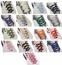 Oval Sneakers Shoelaces Athletic Shoelaces 36,45 inch 16 Color String Shoelaces