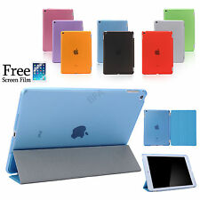 Smart Cover and Hard Back Case for Apple iPad Air 2 1 iPad Pro iPad mini 4 3 2 1