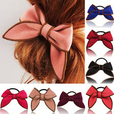 Hair Accessories Ponytail Bow Satin Ribbon Holder Hair Rope Scrunchie Hairband