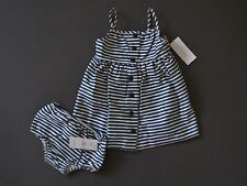 Ralph Lauren polo Baby Girl's Striped Cotton dress Size 12 Months NWT $59