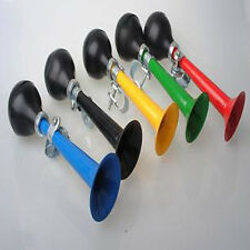 New Bicycle Bike Metal Horn Bell Bugle Squeeze Rubber Bulb