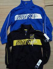 TAPOUT YOUTH LOGO POLYESTER/COTTON ZIP-UP TRACK JACKET SIZE S - XL LIST $44
