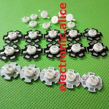 Hot 5 10 50 pcs 1W 3W High Power 7Type UV ultraviolet 365-405nm LED Lamp Light