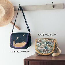 DISNEY Mickey Minnie Tinker Bell Camera Shoulder Bag Lens Cover from Japan E1829