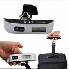 50kg Portable Hanging Electronic Digital Suitcase Luggage Weighing Scales D#