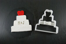 Custom Wedding Heart Cake Cookie Cutter, 3D Printed