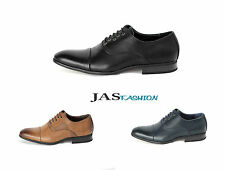 Mens Smart Office Lace Up Wedding Shoes Italian Dress Work Casual Formal Size UK