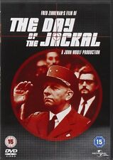 The Day of the Jackal DVD Edward Fox Brand New and Sealed