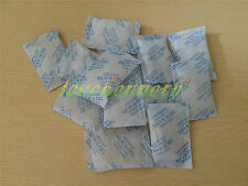 10/20/30/50/100 Bags 10g Cotton Packets Of Silica Gel Desiccant Moistureproof