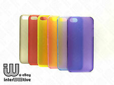 Ultra Thin Coloured Hard Cover Skin Case Accessories For Apple iPhone 5 5S