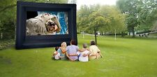New 16'x9' Open Air Cinema Home Outdoor Movie Projector Inflatable Screen