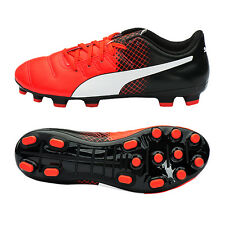 PUMA Junior EvoPower 4.3 AG Soccer Cleats Football Shoes Youth Red 103625-03