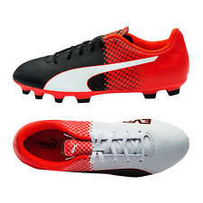 PUMA Junior EvoSpeed 5.5 AG Soccer Cleats Football Shoes Youth Red 103620-03