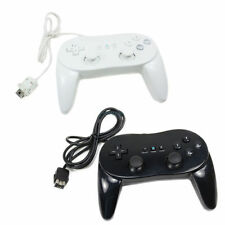 2 x NEW Classic Pro Remote Controller for Nintendo Wii Black /White