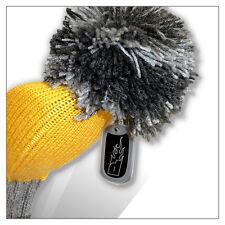 Flaming Golf POMPOM Driver Extra Long Headcover Yellow