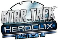 HeroClix Star Trek Tactics II Miniatures Figurines Game Pieces Wizkids NECA
