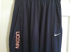 NEW Nike Dri-Fit Connecticut Huskies UCONN Basketball Training Pants Men's L XL
